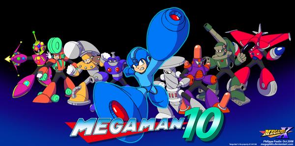 Mega man 10 nce wii 39 ye g z k rpt for Megaman 9 portada