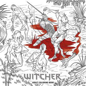 Yeni The Witcher 3 Boyama Kitabı çocuklar Için Değil