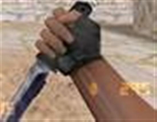Как в кс 1.6 сделать чтобы нож был в левой руке а автомат в правой