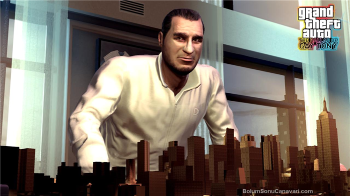 Grand Theft Auto 4 The Ballad Of Gay Tony video game review.