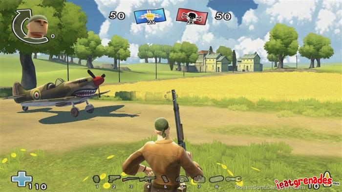 Battlefield heroes maps.