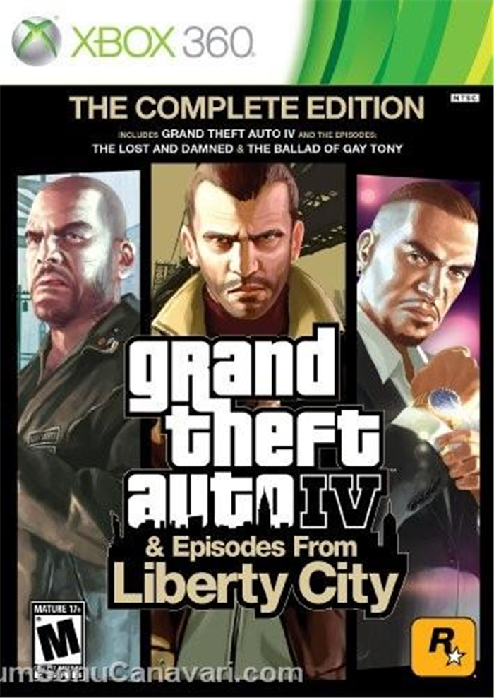 GTA IV + Grand Theft Auto Episodes From Liberty City (2008) .