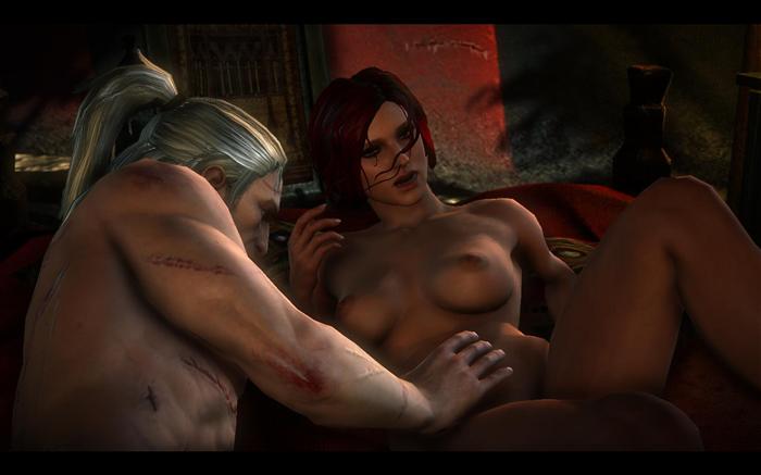 Видео ведьмак секс со трисс.