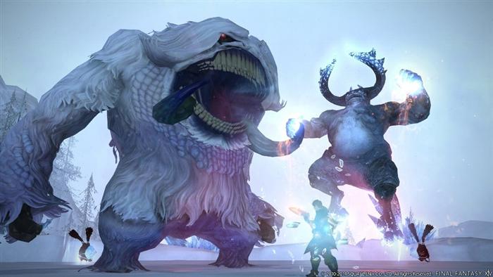 В сети появилась новая подборка свежих скриншотов к игре MMORPG Final Fanta