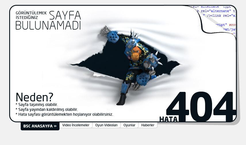 Bölüm Sonu Canavarı | Hata: 404 - Sayfa Bulunamadı
