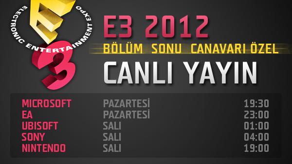 CANLI YAYIN | E3 2014